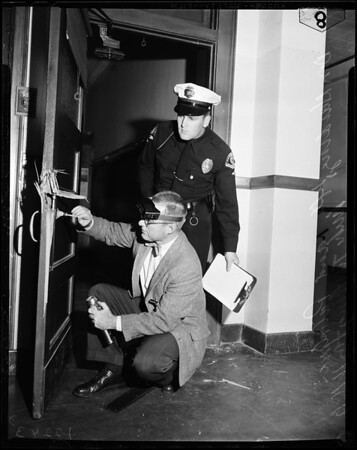John Muir High School burglary (Pasadena), 1957