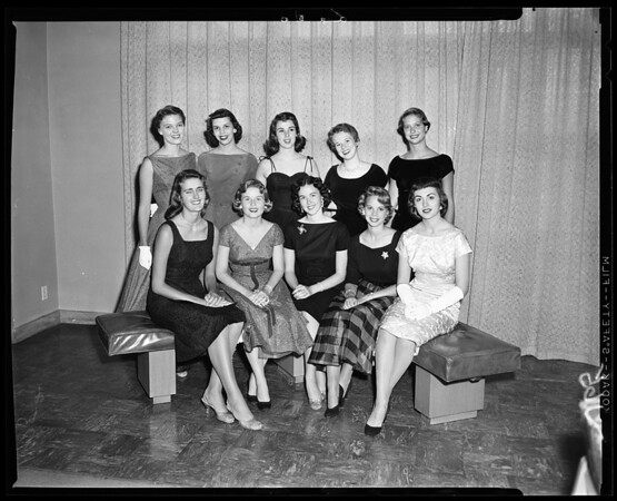 Helen of Troy queen contest, 1956