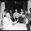 Los Angeles Hospital singers on Thanksgiving, 1958