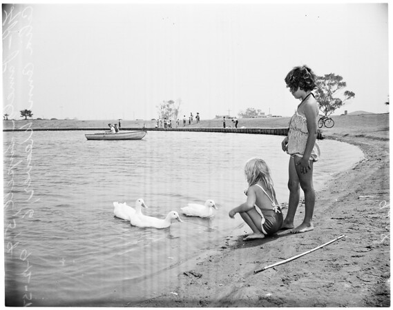 Alondra Park slough changed to park, 1951