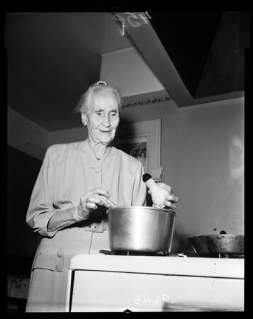 93rd birthday, 1952