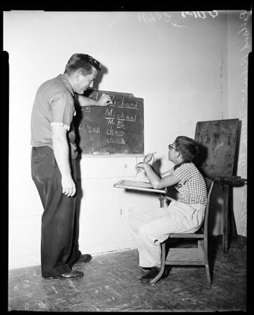 Speech clinic, 1956