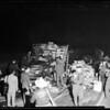 Truck versus auto wreck (Olympic Boulevard Between Goodrich Boulevard and Gerhart Street), 1951