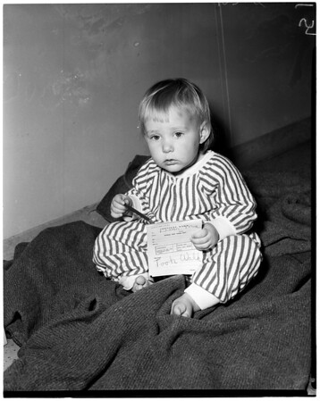 Little girl found (missing), 1960