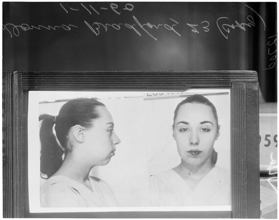 Sam Levine murder suspects (copies), 1960
