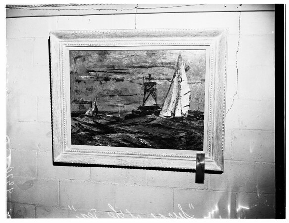 Art show (City Council Comments on Art Show), 1951