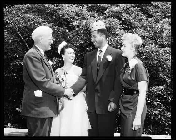 Los Angeles City College anniversary, 1954