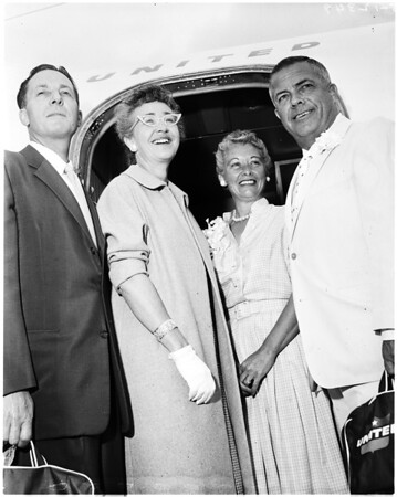 Bailey wedding anniversary, 1958