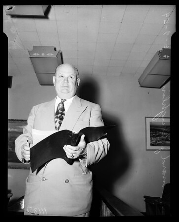New general manager, Harbor Department, 1954