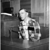 Martinez Kidnapping Hearing, 1955.