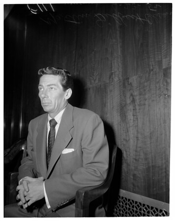 Brooklyn bank robber, 1952