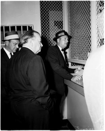 Mormon Bishop swindler, 1958