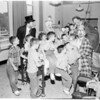 Circus at crippled children's Shrine Hospital, 1954