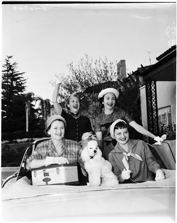 Saint Vincent's Auxilary women, 1958