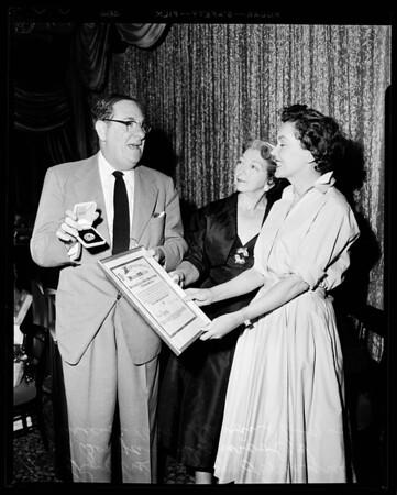 Awards, 1954