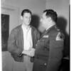Dick Dorsey joins guard, 1957