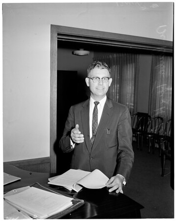 Southern California Council of Churches Conference, 1957