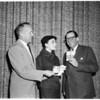 Golf tournament invitation, 1955