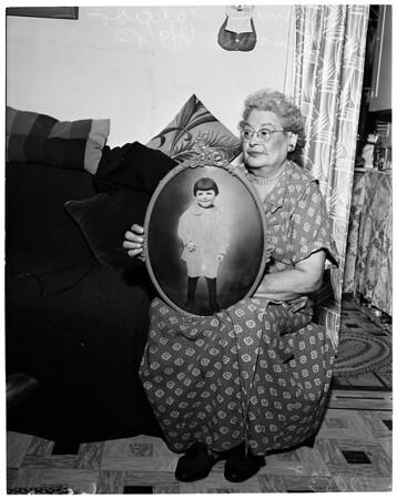 Missing son, 1953