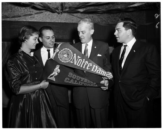 Paul Butler reception, 1955