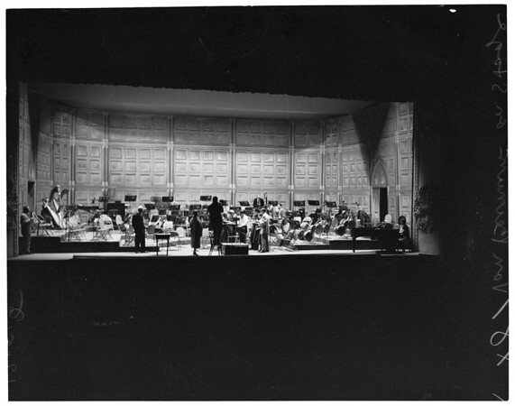 Philharmonic Auditorium, 1957