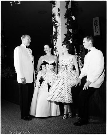Black and White ball, 1958