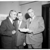 Elks convention at Statler Hotel, 1954
