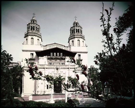 San Simeon California state park (colored negatives), 1958