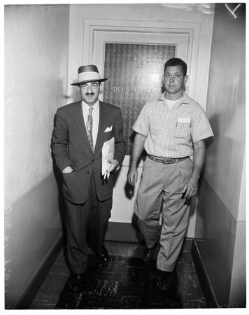 Kenworthy penalty, Fire Department, 1955.