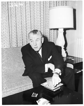 Beverly Wilshire Hotel interview, 1956