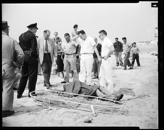 Venice Beach Death, 1954