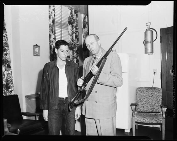Accidental shooting (Long Beach), 1956