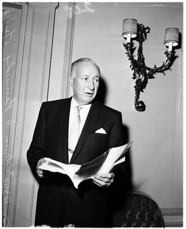 American Weekly directors, 1958