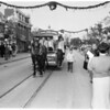 Michigan State footballers at Disneyland, 1955
