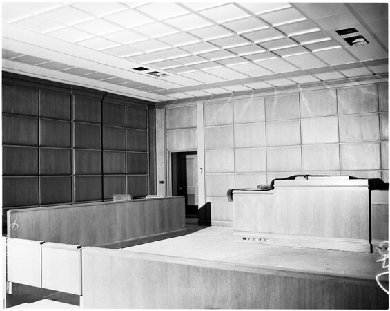 Los Angeles County Court House (new court house), 1958