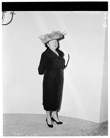 """Beverly Hills Fashions """"Easter Parade Committee"""", 1960"""