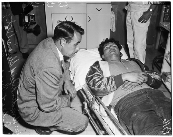 Victims of shooting, 1957