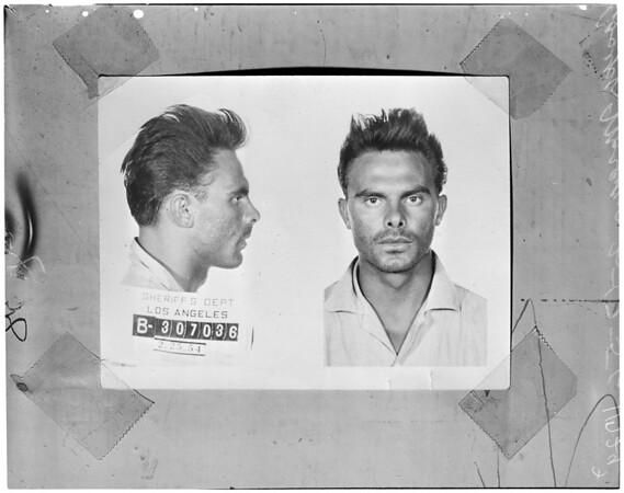 Bank bandit, 1956