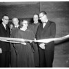 Parish hall dedication Trinity Lutheran, 1954