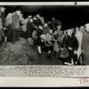 Jewish immigrants awaiting embarkation from Italian beach, 1947