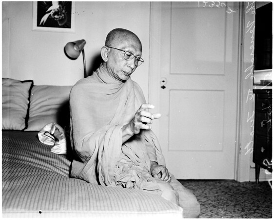 His Holiness, the Venerable IV-Tuoth Chief of Bonzes, 1958