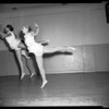 Dancing -- Ballet -- 331 North La Cienega, 1954