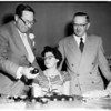 Cerebral Palsy Center dedication (formal opening), 5401 Beverly Boulevard, 1954