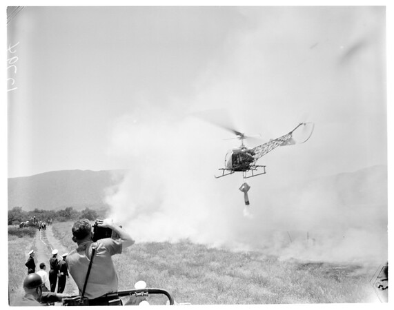 Fire training (Los Angeles County), 1960