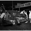 Accident at Pico Boulevard and Vermont Avenue,1951