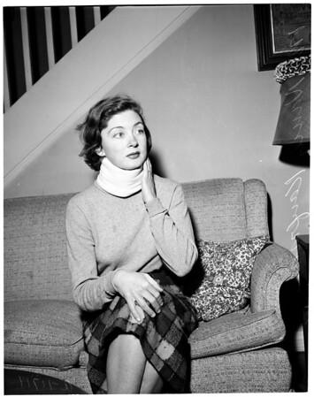 Prince Ranier accident, 1956