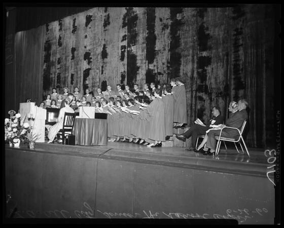 National Education Association Convention (Vesper), 1960