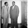 Extortion suspect, 1955