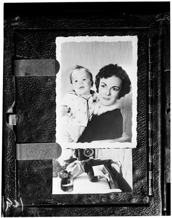 Unwed mother's death, 1955