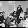 Presbyterian youth meeting, 1957